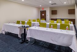 Meeting room at the Holiday Inn Express & Suites Fort Worth West.