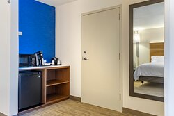 Suite rooms come with a Keurig, Microwave and Refrigerator