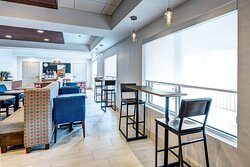 Eat, Work, or Just Relax in our Expanded Dining Lounge