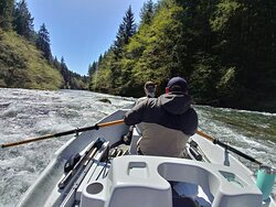 Floating the Sol Duc river