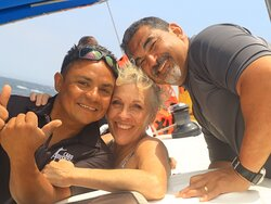 Victor and Capt. Miquel were the best!!
