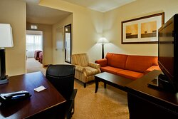 Our Queen Suite is perfectly comfortable for Family travel.