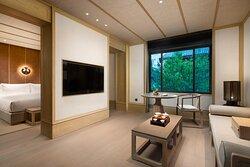 Nonsmoking Zenist Deluxe Suite Living Room