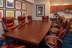 Boardroom with seating up to 10