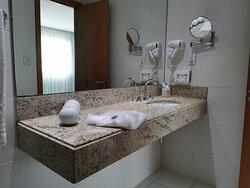 Espelho de aumento e secador