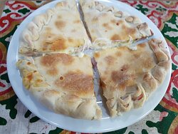 Beirute vários tipos de recheios (Filé Mignon, Filé de Frango, pizza, kafta árabe)