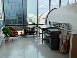 Eero Saarinen's office