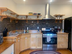 Our guest kitchen comes fully equipped!