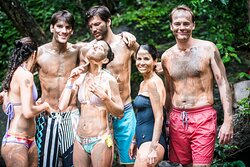 Volcanic mud from the fountains at the hacienda provide for this fabulous treatment at Rio Negro Hot springs.