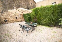 Casa El Graner, 45m2, salón comedor cocina, 2 habitaciones/baño. Jardín.