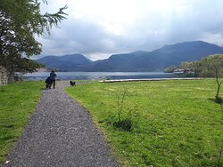 Trip to aira force waterfall with Ullswater steamers