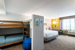 Kids Suite with King Bed and Bunk Beds