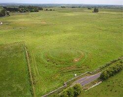 Rathbeg ring barrow burial mound, Rathcroghan.