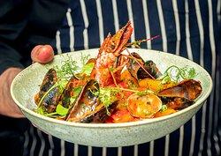 Seafood Paccheri