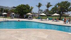 No importa que el hotel no tenga playa directamente, si te llevan al CLUB SCALA!