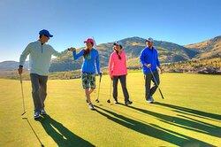 Canyons Village Golf Course Park City