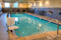 Enjoy our indoor heated pool