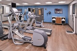 PLENTY OF WORKOUT OPTIONS FOR OUR GENERAL ELECTRIC GUESTS