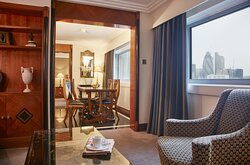 A Tower Suite is your luxurious home away from home