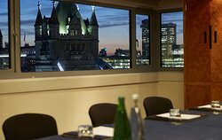 Mayflower meeting with a view