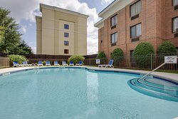 Soak up the sunshine while taking a dip in our Swimming Pool