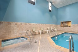 Our swimming pool is a perfect retreat for health and wellness.