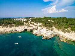 Small Kolumbarice Cliff at Cape Kamenjak - south Istria