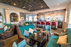 The bistro bar & dining area