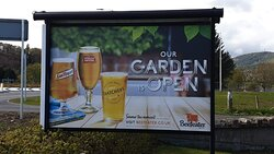 our large garden area is open all day