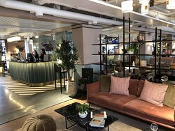 Reception och lounge