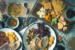 Enjoy our cheese and build yourself a cheese platter
