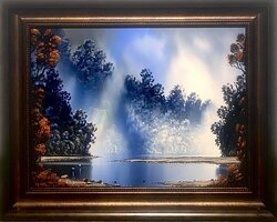 Richard Wilson oil painting frame size measures 700mm x 550mm $5850.00 Available exclusively through Central Art Gallery, 71 Beach St, Queenstown NZ. www.centralart.co.nz / centralartgallerynz@gmail.com