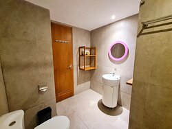 Our Spacious and Thematic Bathroom