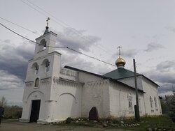 Разные ракурсы Никольской церкви в Решме