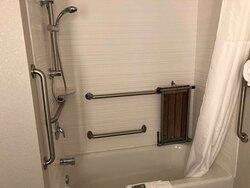 Two Queen ADA Guest Room Bath- Pet Friendly