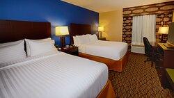 Double Queen Room  at Holiday Inn Express Bordentown-Trenton South