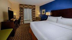 King Guest Room at Holiday Inn Express Bordentown-Trenton