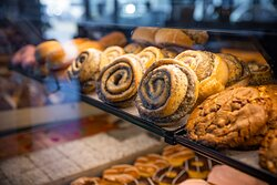 Múnsnúður, one of our most famous buns!