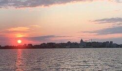Sunset on Betty Lou Cruises!