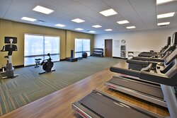 Work out all your stress in our modern fitness center.