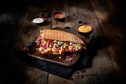Doner Kebab with Nacho Cheese