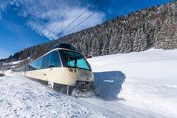 Panoramic Train with VIP seat