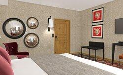 Chambre confort Photo du projet - Photo non contractuelle