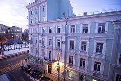 Вид на вечернюю Москву