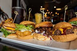 Slider Selection - Chicken, Fish, Pulled Pork, Bacon
