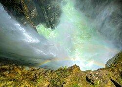 Cascada El Pailón