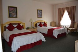 Standard Two Double Bed Guest Room