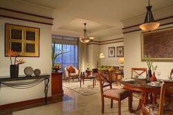 Somerset Grand Citra ,Jakarta Living Room