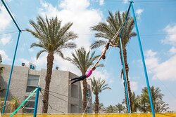 UCoral Beach Club Eilat Flying Trapeze
