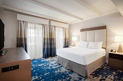 ADA handicap accessible suite with king bed
